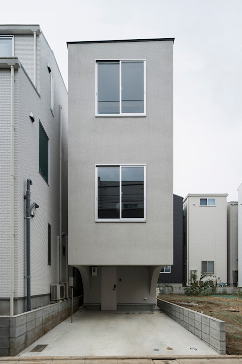 Houses by Kentaro Maeda Architects, Modern Concrete