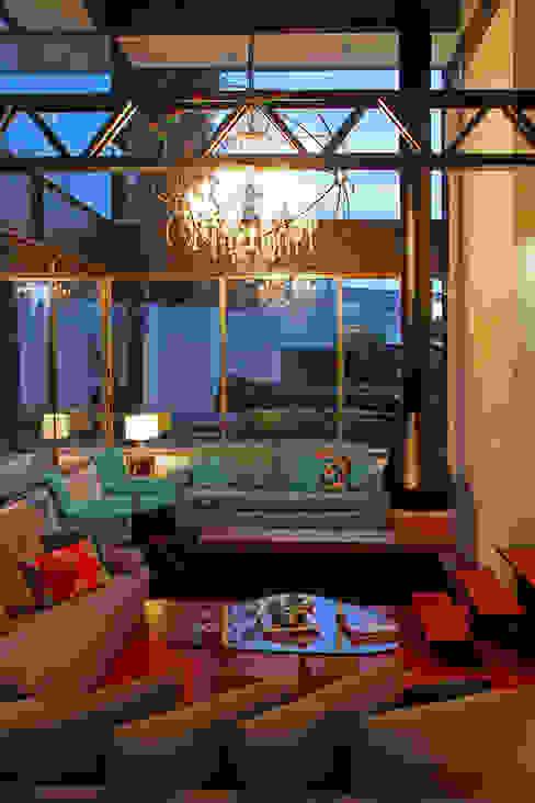Casa Begalg Salones modernos de DIN Interiorismo Moderno