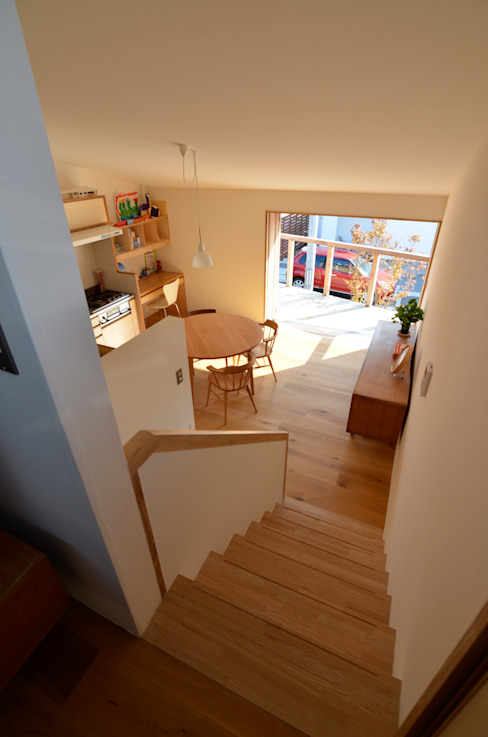 Comedores de estilo  por 清建築設計室/SEI ARCHITECT