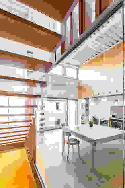 SAU-MIGDIA-HOUSE Столовая комната в стиле модерн от Andres Flajszer Photography Модерн