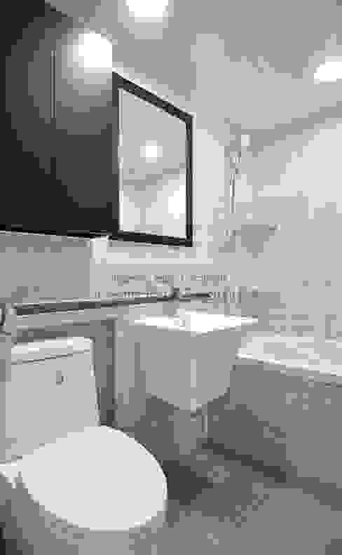 수원 정자동 한라비발디 27평: JMdesign 의  욕실,모던