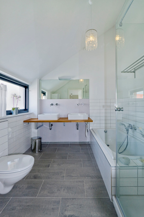 İskandinav Banyo gondesen architekt İskandinav