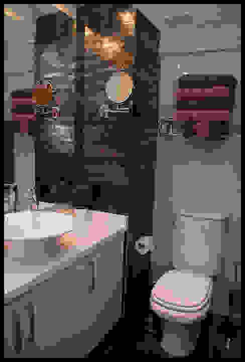 Segundo baño Baños de estilo moderno de Diseñadora Lucia Casanova Moderno