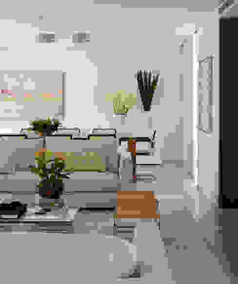 Vila Nova Apartment - Living / Sala de Estar Salas de estar modernas por DIEGO REVOLLO ARQUITETURA S/S LTDA. Moderno