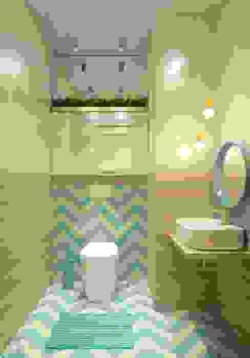 Katerina Butenko Minimalist style bathroom