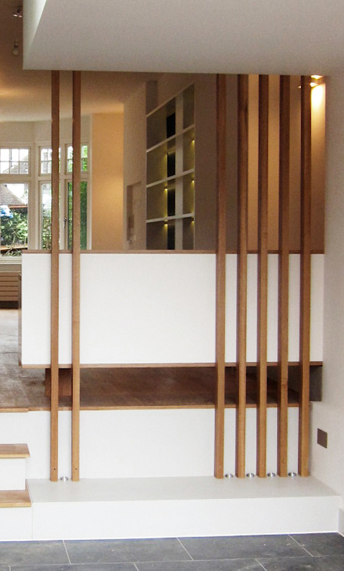 minimalist  by homify, Minimalist Wood Wood effect