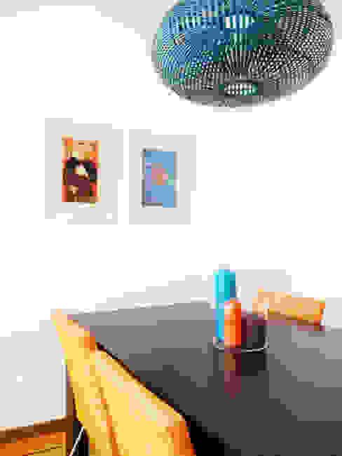 Sala comum homify Salas de jantar mediterrânicas