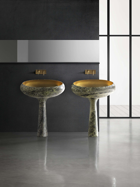 Gong, sumptuous purity من Kreoo حداثي رخام