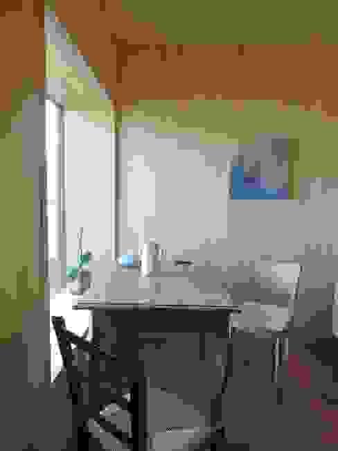 Bureau moderne par schroetter-lenzi Architekten Moderne Bois Effet bois