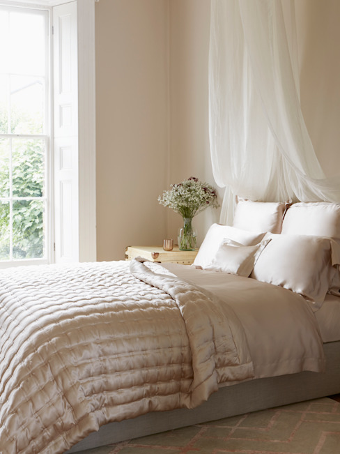 Windsor Nude silk bedspread от Gingerlily Классический Шелк Желтый