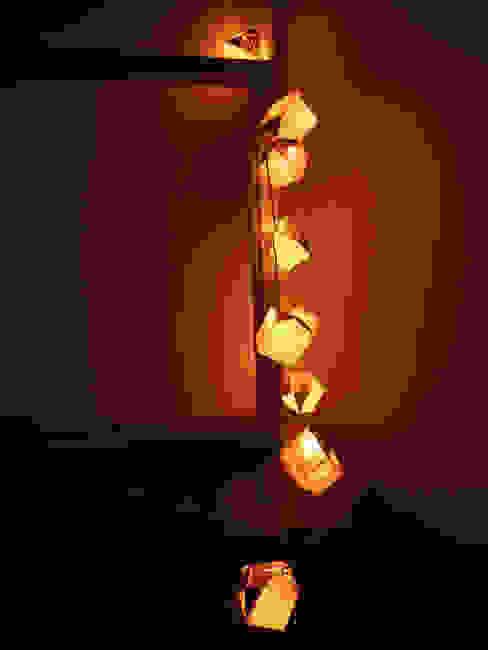 Guirlande lumineuse origami par Du O du Grenier Éclectique Papier