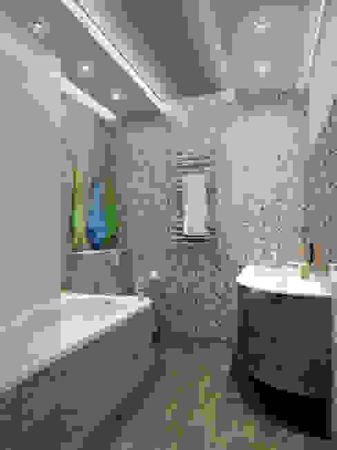 дизайн интерьра квартиры 120 кв.м. Ванная комната в стиле минимализм от INTERIERIUM Минимализм