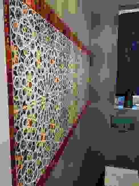 Płytki ceramiczne Mattullah: styl , w kategorii Łazienka zaprojektowany przez Kolory Maroka,
