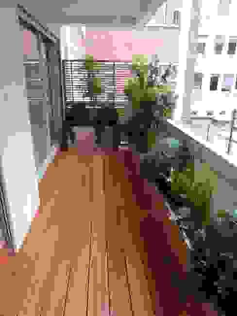 Modern Terrace by Scènes d'extérieur Modern