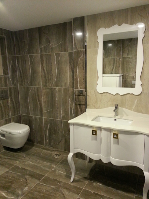 Country style bathroom by FG Mimarlık Country