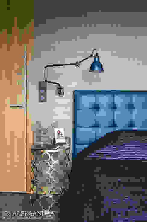 sypialnia Eklektyczna sypialnia od ALEKSANDRA interior design studio Eklektyczny