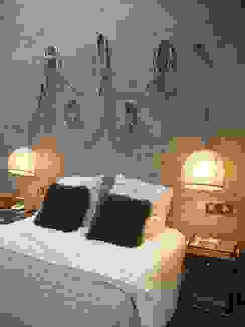 Chambre originale par homify Éclectique Bois Effet bois