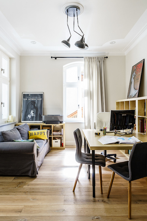 Study/office by Gzowska&Ossowska Pracownie Architektury Wnętrz,