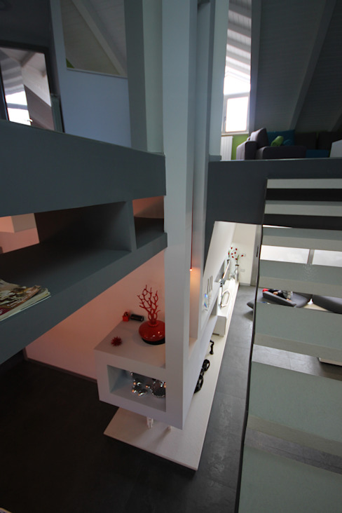 Modern Koridor, Hol & Merdivenler Studio Ferlenda Modern