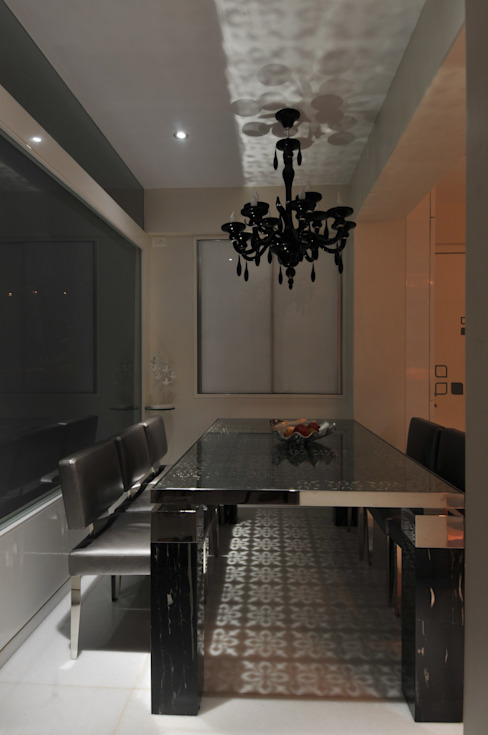 Site at Vile Parle Modern dining room by Mybeautifulife Modern