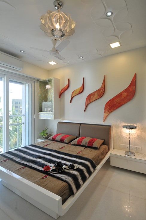 Site at Vile Parle Modern style bedroom by Mybeautifulife Modern