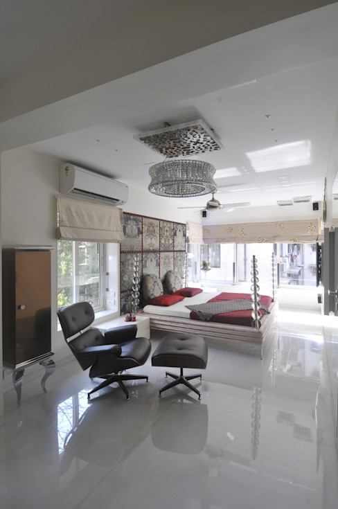 Site at Juhu Modern style bedroom by Mybeautifulife Modern