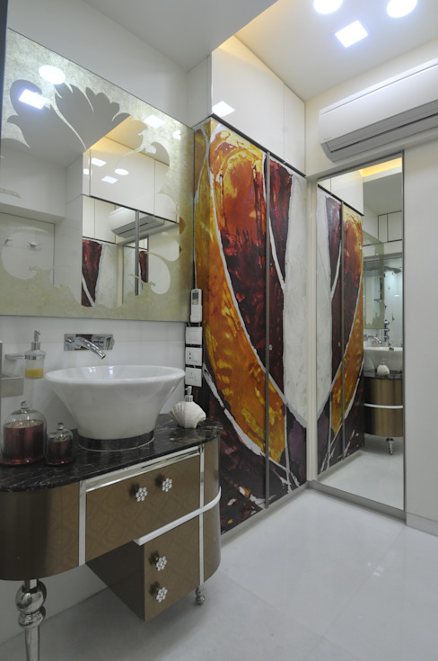 Site at Juhu Modern Bathroom by Mybeautifulife Modern
