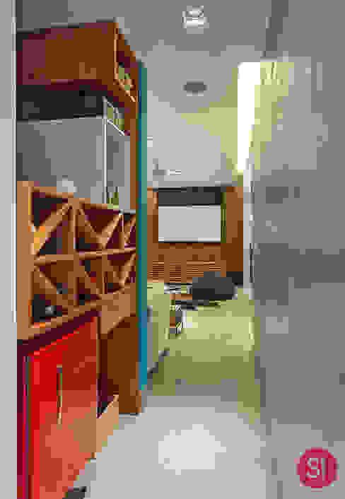 Bodegas de estilo  por Botti Arquitetura e Interiores-Natália Botelho,