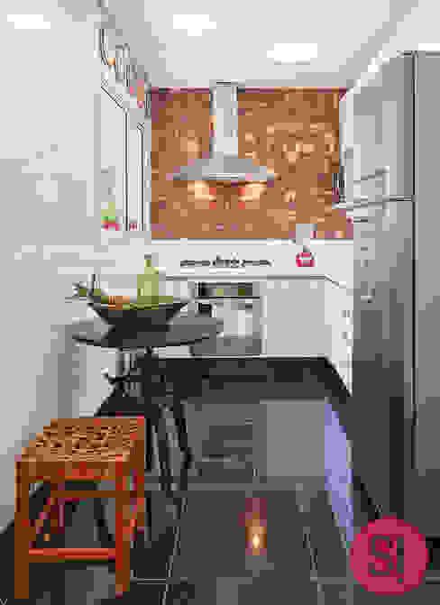 Cocinas de estilo  por Botti Arquitetura e Interiores-Natália Botelho,