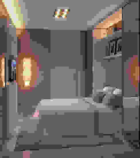 Modern style bedroom by Giovanna Castagna Arquitetura Interiores Modern Glass