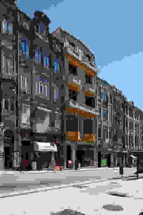 Rua Alexandre Braga por Nuno Valentim, Arquitectura e Reabilitação