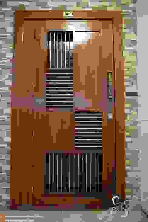 Modern windows & doors by single pencil architects & interior designers Modern