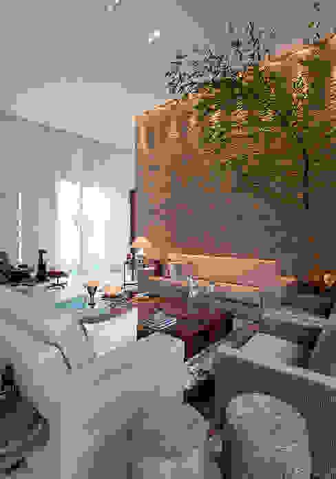Modern living room by Maria Helena Caetano _ Arquitetura e Interiores Modern