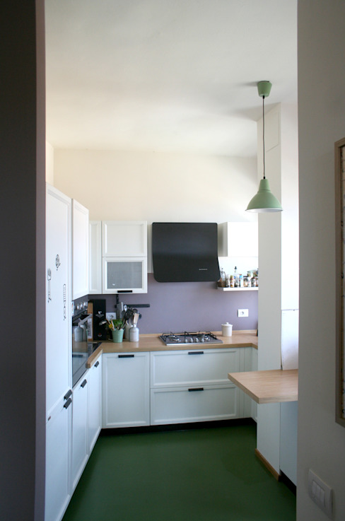 Cucina Cucina eclettica di Atelier delle Verdure Eclettico