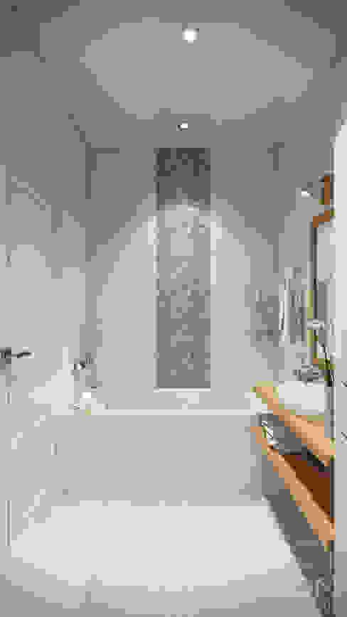 студия визуализации и дизайна интерьера '3dm2' Salle de bain scandinave