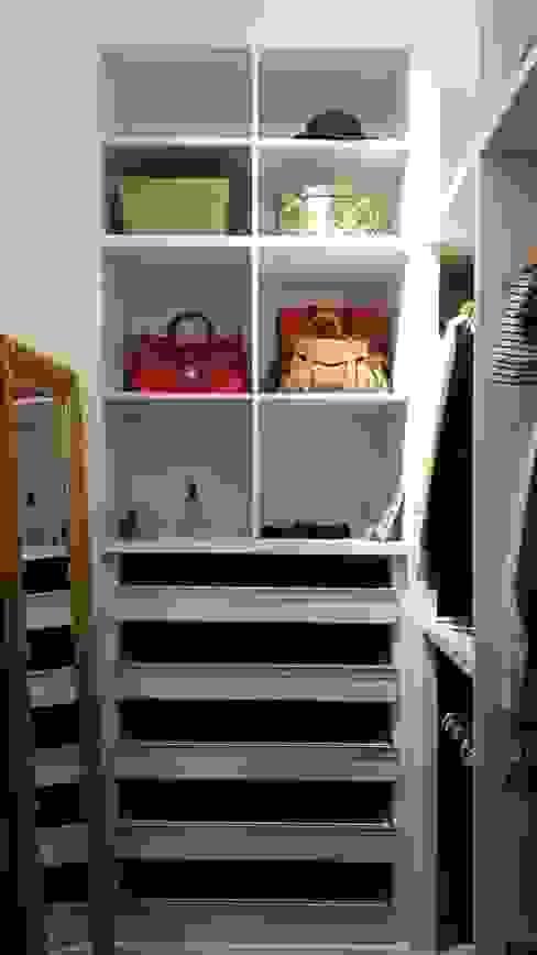 Closet (Parceria Eliana Freitas) Closets por Das Haus Interiores - by Sueli Leite & Eliana Freitas Moderno MDF