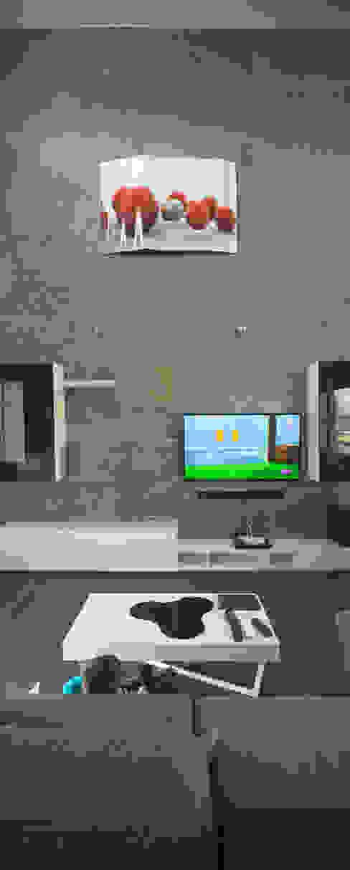 Casa AI Salones de estilo moderno de Mascagni arquitectos Moderno