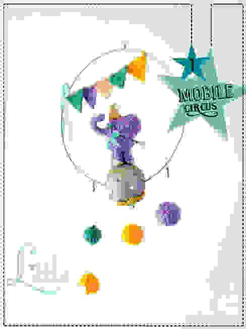 di Little Curiosité Eclettico Lana Arancio