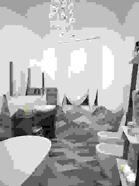 Progetto di Interior Design Teresa Lamberti Architetto Bagno moderno Grigio