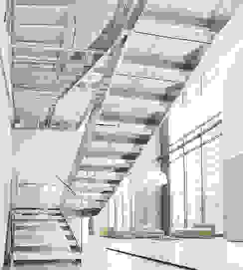 Bosco Verticale_Fontanot scale_Milano di Diana Lapin Minimalista