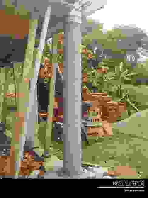 PROYECTO TAMESIS - ANTIOQUIA.: Jardines de estilo  por NIVEL SUPERIOR taller de arquitectura ,