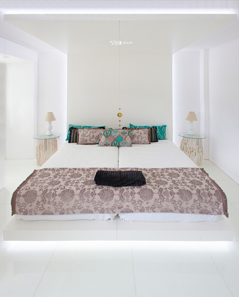 Twin Room por Escolha Viva, Lda Moderno