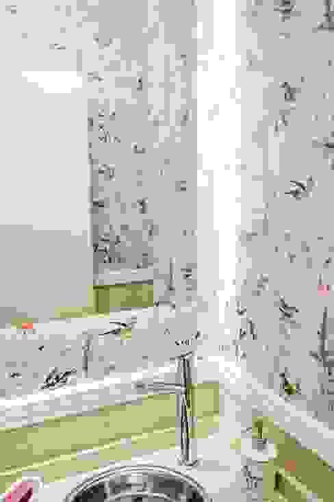 Baños de estilo  por Feller Herc Arquitectura, Moderno