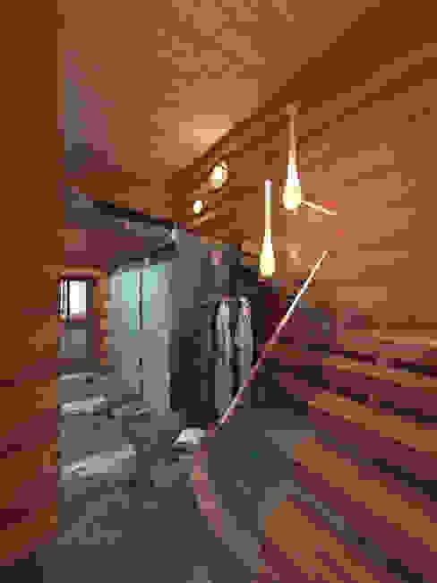 Спа в . Автор – A-partmentdesign studio, Скандинавский Дерево Эффект древесины