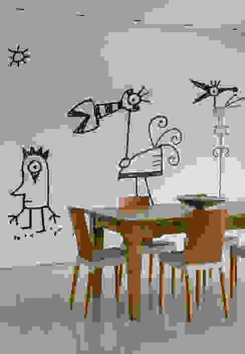 Palos Verde - Alta resolução Salas de jantar modernas por Ximenes Leite Arquitetura Ltda. Moderno