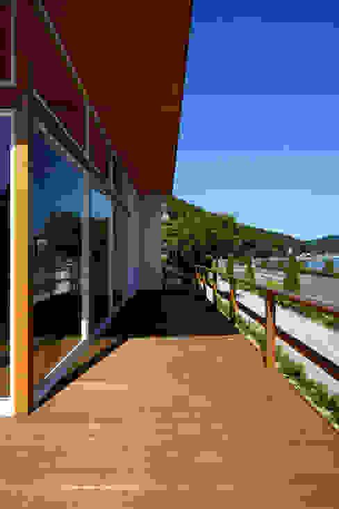 โดย 青木建築設計事務所 โมเดิร์น ไม้ Wood effect