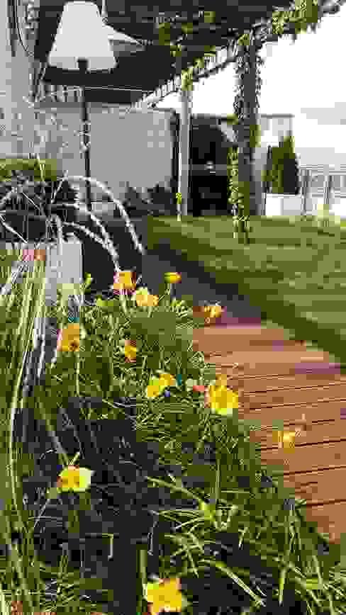roslinnosc na tarasie: styl , w kategorii Ogród zaprojektowany przez Ogrodowa Sceneria,Nowoczesny