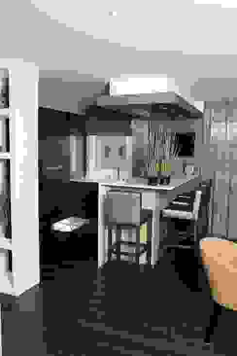 Création d'un appartement en copropriété CSInterieur Cuisine moderne