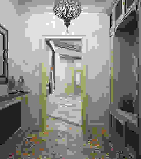 Ingresso, Corridoio & Scale in stile mediterraneo di Студия дизайна Дарьи Одарюк Mediterraneo