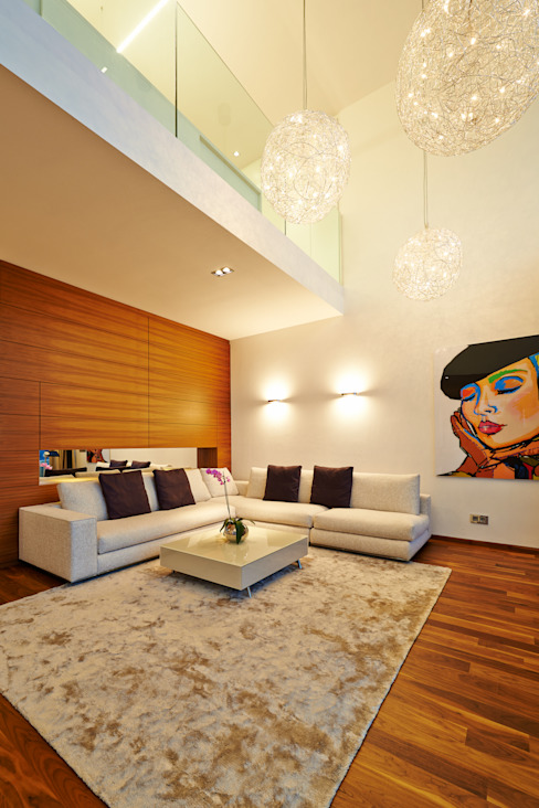 Modern Living Room by ZHAC / Zweering Helmus Architektur+Consulting Modern